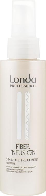 Кератиновый восстанавливающий спрей для волос - Londa Professional Fiber Infusion 5 Minute Treatment