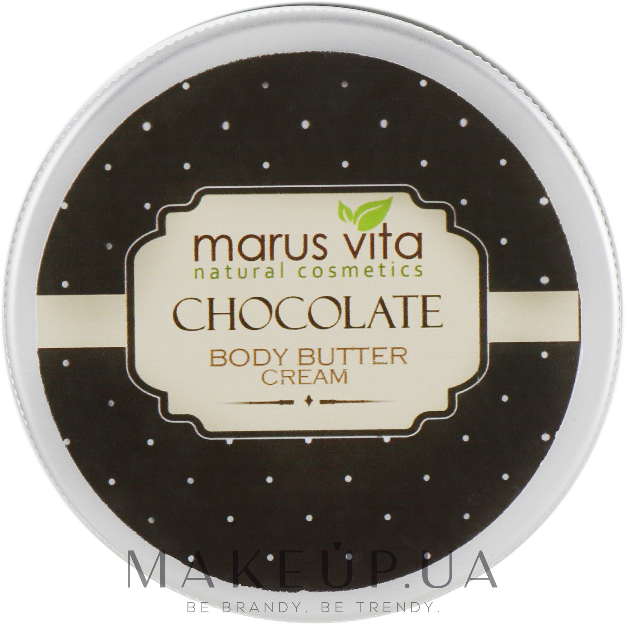 "Крем-масло для тела ""Шоколад"" - Marus Vita Body Cream — фото 100ml"