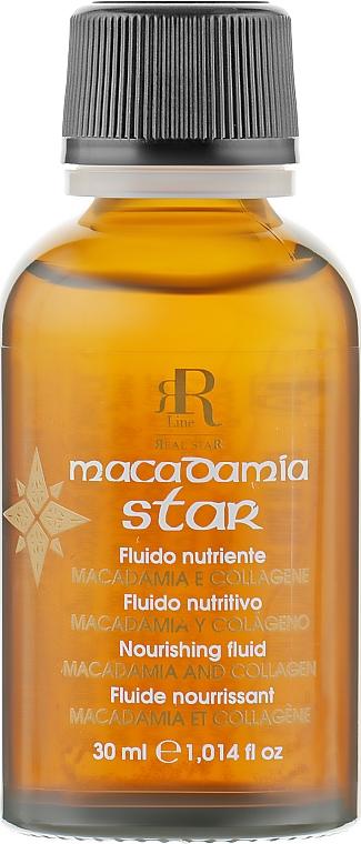Флюид для волос с маслом макадамии и коллагеном - RR Line Macadamia Star