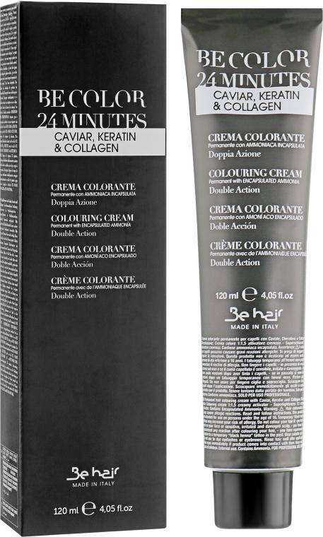 Стойкая крем-краска для волос - Be Hair Be Color 24 Min Colouring Cream — фото N1