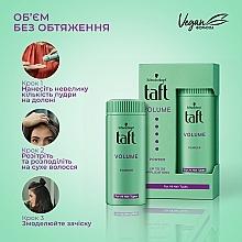 "Стайлинг-пудра для волос ""Объем"" - Taft True Volume 3 — фото N3"