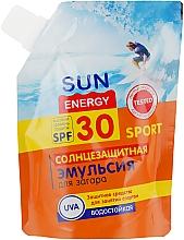 Духи, Парфюмерия, косметика Солнцезащитная эмульсия для загара - Sun Energy Sport SPF30