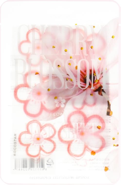 "Маска-слайс для лица ""Цветы сакуры"" - Kocostar Cherry Blossom Slice Mask Sheet"