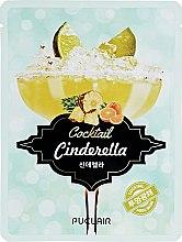 Духи, Парфюмерия, косметика Маска аква-коктейль для сияния кожи лица - Puclair Cinderella Cocktail Cooling & Soothing Face Mask
