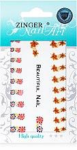 Духи, Парфюмерия, косметика Наклейки для ногтей с имитацией страз, fda-160 - Zinger Nail Art Sticker