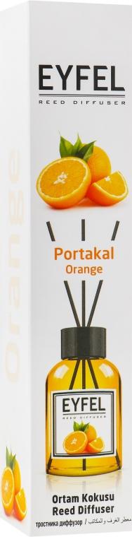 "Аромадиффузор ""Апельсин"" - Eyfel Perfume Reed Diffuser Orange"