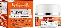 Духи, Парфюмерия, косметика Крем-сыворотка для лица - Eveline Cosmetics Expert С Anti-Wrinkle Cream-Serum 40+