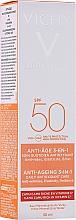 Духи, Парфюмерия, косметика Солнцезащитный крем для лица - Vichy Ideal Soleil Anti-Ageing Care SPF50
