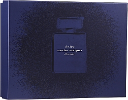 Духи, Парфюмерия, косметика Narciso Rodriguez for Him Bleu Noir - Набор (edp/100 ml + edp/10 ml + sh/gel/75 ml)