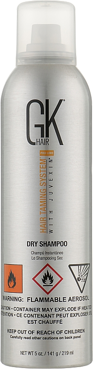 Сухой шампунь - GKhair Dry Shampoo