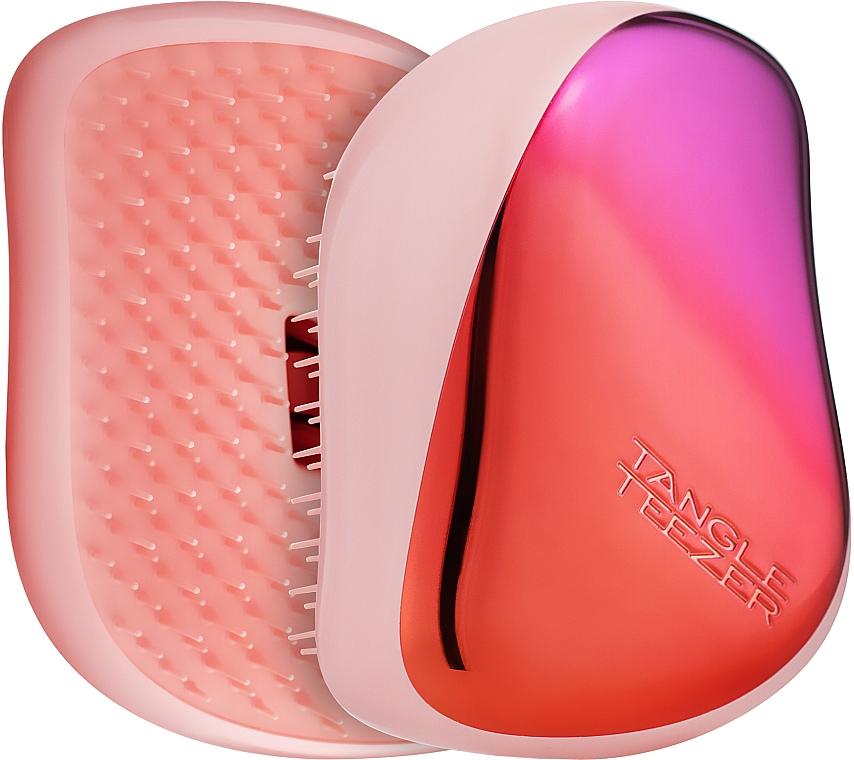 Компактная расческа для волос - Tangle Teezer Compact Styler Cerise Pink Ombre