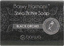 Духи, Парфюмерия, косметика Мыло с экстрактом черной орхидеи - Barwa Harmony Black Orchid Soap