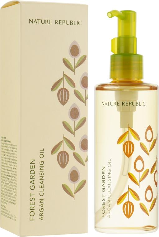 Питательное гидрофильное масло - Nature Republic Forest Garden Argan Cleansing Oil