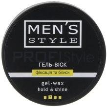 """Духи, Парфюмерия, косметика Гель-воск """"Фиксация и блеск"""" для мужчин - Profi style Men's Style"""