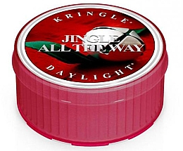 Духи, Парфюмерия, косметика Чайная свеча - Kringle Candle Daylight Jingle All The Way