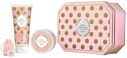 Pupa Miss Princess Kit Medium 1 Rose Petals - Набор(sh/milk/200ml + b/cr/100ml + infusore)