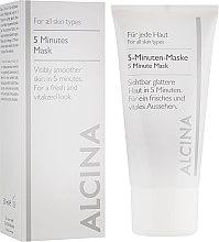 Духи, Парфюмерия, косметика 5-минутная маска-экспресс для лица - Alcina B 5 Minute Mask