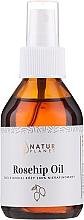 Духи, Парфюмерия, косметика Масло шиповника нерафинированное - Natur Planet Rosehip Oil 100%