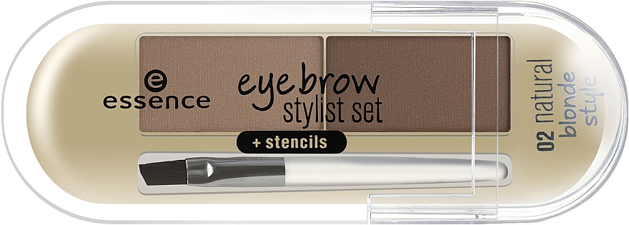 Пудра для бровей - Essence Eyebrow Stylist