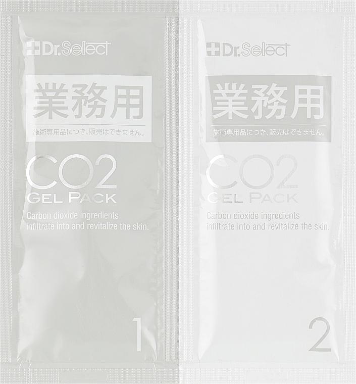 Плацентарная карбокси-маска для лица - Dr. Select CO2 Gel Pack
