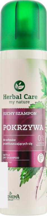 "Сухой шампунь для жирных волос ""Крапивный"" - Farmona Herbal Care"