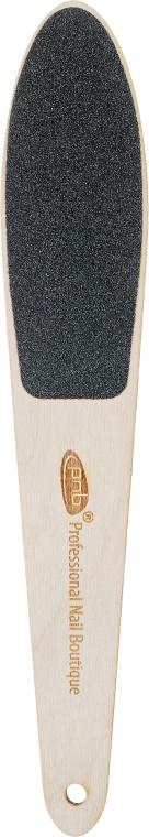 Педикюрная пилка для стоп 100/180, деревянная - PNB Wooden Pedicure File