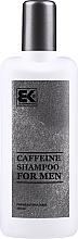 Духи, Парфюмерия, косметика Шампунь для мужчин с кофеином - Brazil Keratin Caffeine Shampoo For Man