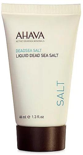 Жидкая соль Мертвого моря - Ahava Deadsea Salt Liquid Deadsea Salt