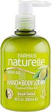 Духи, Парфюмерия, косметика Лосьон для рук и тела с маслом оливки - Farmasi O'liva Hand&Body Lotion