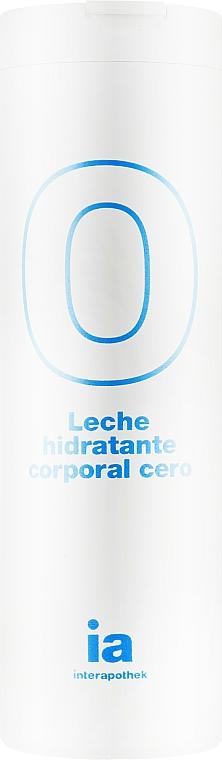 """Увлажняющее крем-молочко для тела """"0%"""" - Interapothek Leche Hidratante Corporal Cero"""