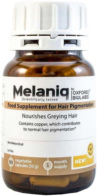Молекулярная добавка для восстановления цвета седых волос - Oxford Biolabs Melaniq