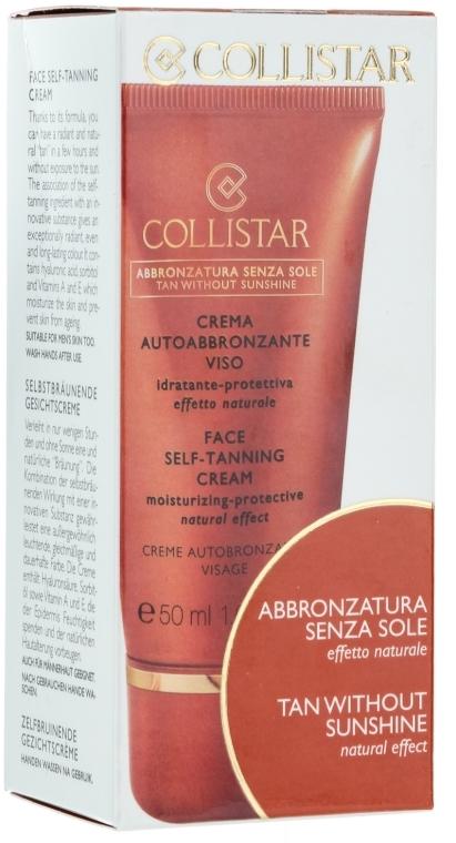 Крем-автозагар для лица - Collistar Face Self-Tanning