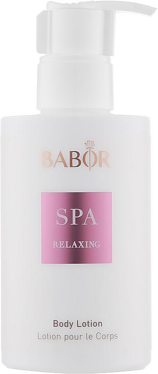"Лосьон для тела ""СПА Релакс"" - Babor Relaxing Body Lotion"