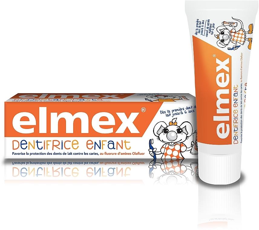 Зубная паста для детей до 6лет - Elmex Kids Toothpaste