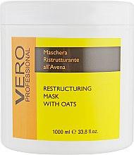 Духи, Парфюмерия, косметика Маска восстанавливающая с овсом - Vero Professional Hair Mask