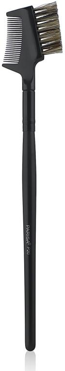 Кисть для ресниц и бровей P20 - Parisa Cosmetics