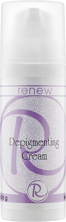 Отбеливающий крем для лица - Renew Whitening Depigmenting Cream