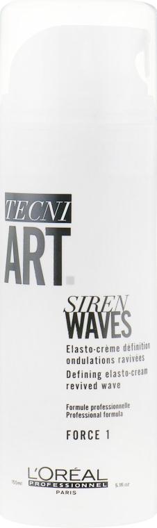 Эластичный крем для волос для создания кудрей - L'Oreal Professionnel Tecni.Art Siren Waves Cream