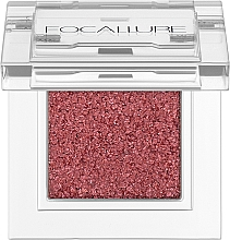 Духи, Парфюмерия, косметика Дуохромные тени для век - Focallure Single Eyeshadow Duo Chrome