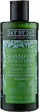 Духи, Парфюмерия, косметика Шампунь с зеленой глиной, протеинами конопли и риса - Alan Jey Green Natural Shampoo