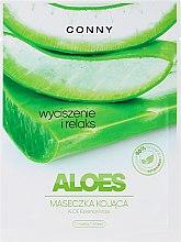 "Духи, Парфюмерия, косметика Маска для лица ""Алоэ"" - Conny Aloe Essence Mask"