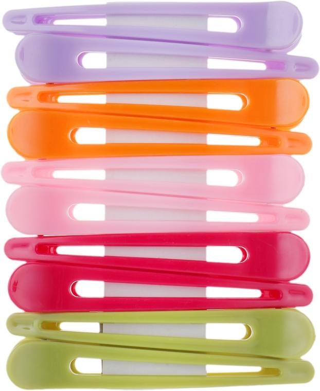 Зажимы пластиковые, 964085, разноцветные - SPL