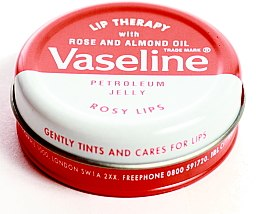 "Духи, Парфюмерия, косметика Бальзам для губ ""Роза"" - Vaseline Lip Therapy Rose"
