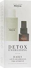 Духи, Парфюмерия, косметика Набор против выпадения волос - Previa Detox Energising Treatmant (sh/250ml + lotion/100ml)