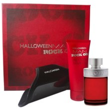 Духи, Парфюмерия, косметика Jesus Del Pozo Halloween Man Rock On - Набор (edt/125ml + sh/gel/100ml + bracelet)