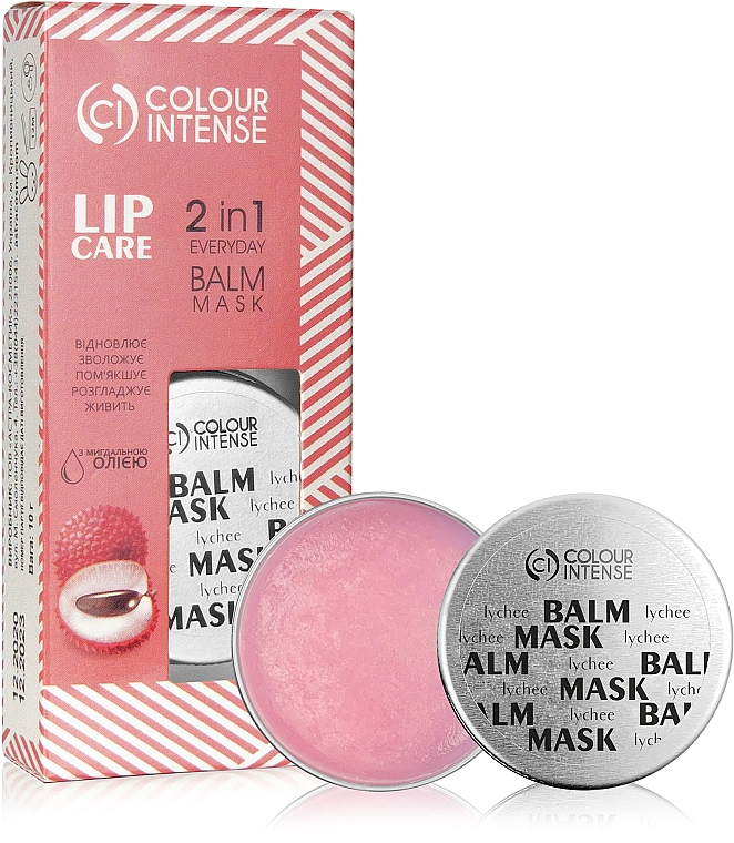 Бальзам-маска для губ - Colour Intense Lip Care 2 In 1 Everyday Balm Mask