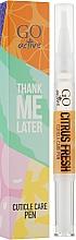 Духи, Парфюмерия, косметика Масло для кутикулы - GO Active Thank Me Later Citrus Fresh Cuticle Care Pen
