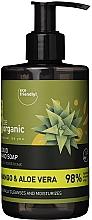 "Духи, Парфюмерия, косметика Жидкое мыло для рук ""Манго и алоэ"" - Be Organic Liquid Hand Soap Mango & Aloes"