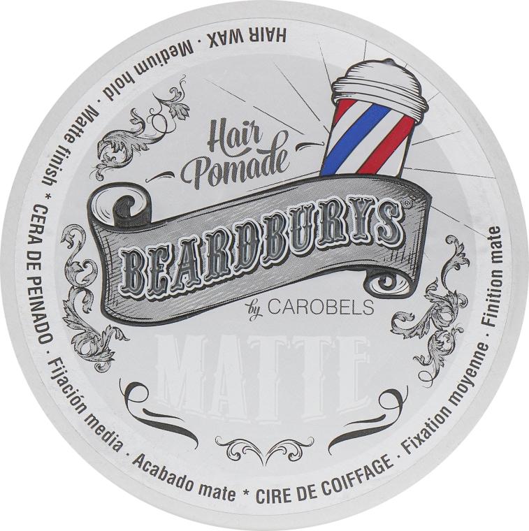Помада для волос с матовым эффектом - Beardburys Matte Wax