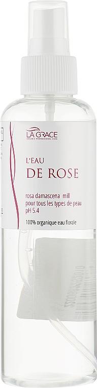 Органическая цветочная вода розы - La Grace L'Eau De Rose